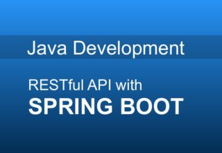 JAVA Framework: Spring, Soring Boot, Rest Api with live project and design
